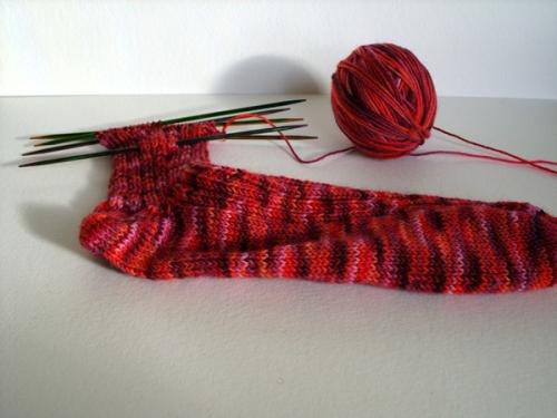 sock-progress